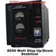 Seven star 8,000 Watt Deluxe Automatic Voltage Regulator / Converter