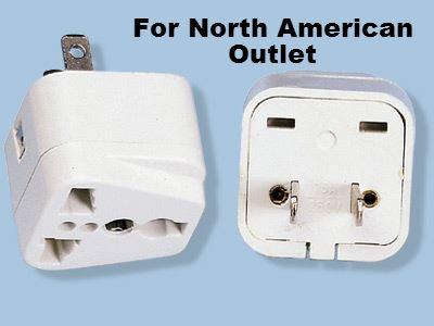 Ss 410 American Universal Plug Adaptor