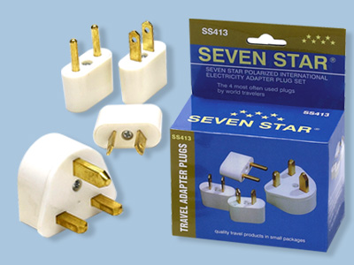 International Travel Plug Adapter Kit - SS413