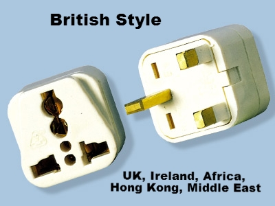 Ss414 Uk Ireland Uae Universal Plug Adapter