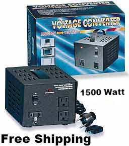1500 Watts Step Up Step Down Voltage Converter