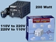 TC-200 200 Watts Step Up Step Down Voltage Converter