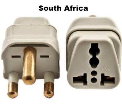 Ss415sa South Africa Universal Grounded Plug Adapter