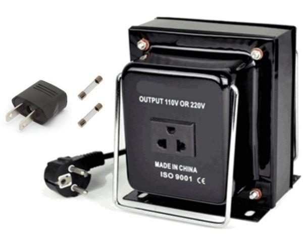 110//120V to 220//240V Step Down//Up Voltage Converter Travel dapter