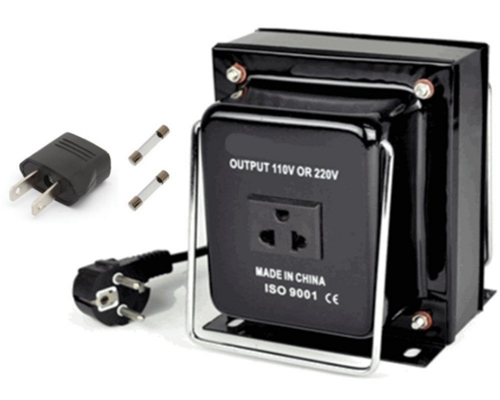 750 Watt Power Voltage Converter Transformer 110/120/220/240v (300 Watts) Max.