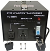 Seven-Star-TC2000G-2000-Watt-Step-Up-Down-Converte