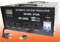 Seven Star AR-5000 5000 Watt Voltage Converter Stabilizer 5000W Step Up Down Transformer Regulator