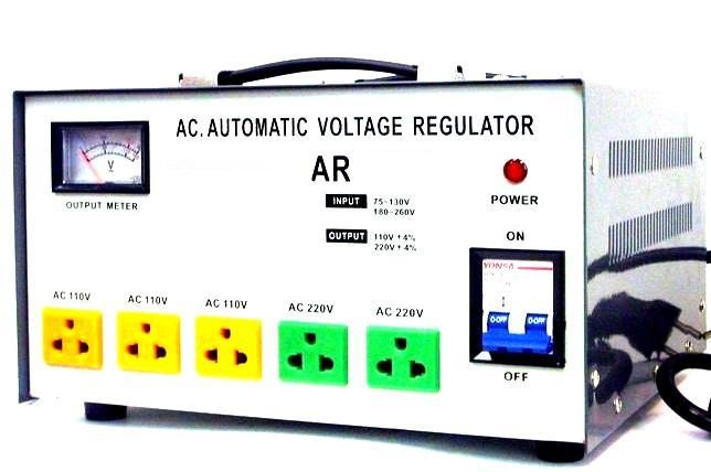 Simran AR8000 8000 W Watt Voltage Regulator Transformer Converter Step Up  and Down