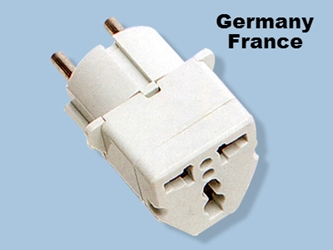 GS-18 Germany France Universal Plug Adapter For European Recessed Outlet