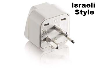 Universal Grounded Plug for Israel IS400