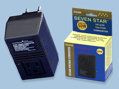 50 Watts Fuse Protected Step Down Voltage Converter - SS209