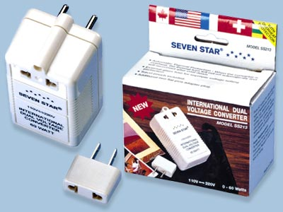Dual Voltage Converter 60 Watts 110 <--> 220 Volt - SS213