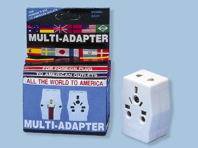 Multi Receptacle Adapter Plug For Standard USA Outlet - SS407