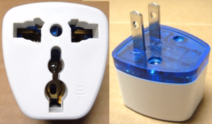 Plug Adapter Universal North American - Change Foreign Plugs to USA Style Plug