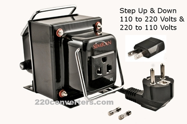 Simran THG5000UD 5000 W Watts Step Up-Step Down Transformer Two Way Converter 5000W