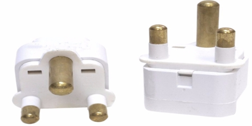 Plug Adapter - South Africa Thick 3 Prong Type M Electrical outlet