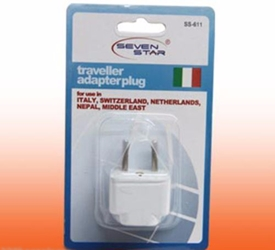 Plug Adapter - Europe / Asia 4mm - Universal Plug to Europe/Asia Style Plug